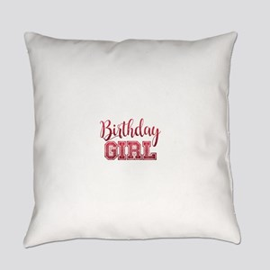 Birthday Girl Everyday Pillow
