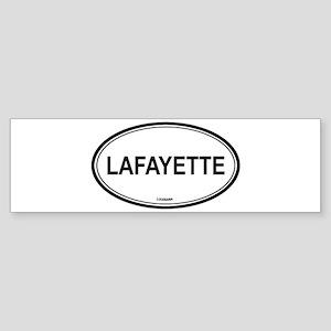 Lafayette (Louisiana) Bumper Sticker