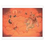 sj - Hanuman hit by Indra