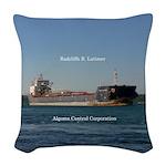 Radcliffe R. Latimer Woven Throw Pillow
