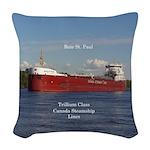 Baie St. Paul Woven Throw Pillow