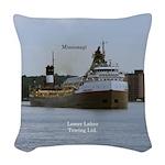 Mississagi Woven Throw Pillow