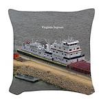 Virginia Ingram Woven Throw Pillow
