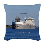 Manitoulin Llc Woven Throw Pillow