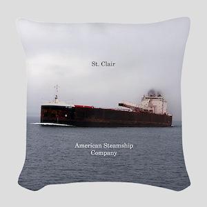 St. Clair Woven Throw Pillow