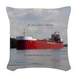 Rt. Hon Paul J. Martin Woven Throw Pillow