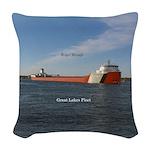 Roger Blough Woven Throw Pillow