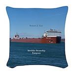 Stewart J. Cort Woven Throw Pillow