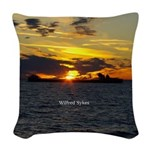 Wilfred Sykes Sunset Woven Throw Pillow