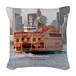 Guy V. Molinari Woven Throw Pillow