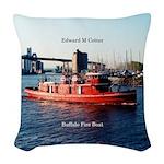 Edward M. Cotter Woven Throw Pillow