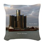 Kaye E. Barker Detroit Woven Throw Pillow