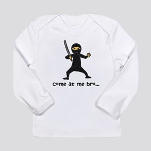 Ninja Long Sleeve Infant T-Shirt