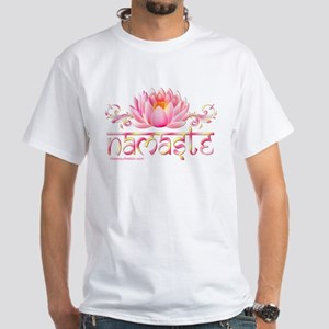 www.YogaGlam.com White T-Shirt