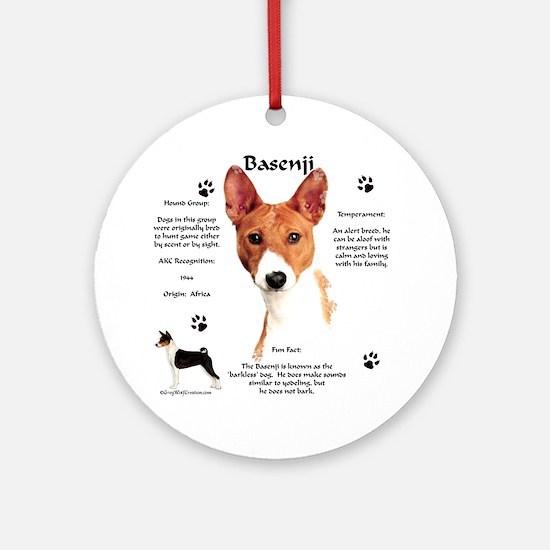 Basenji 1 Ornament (Round)