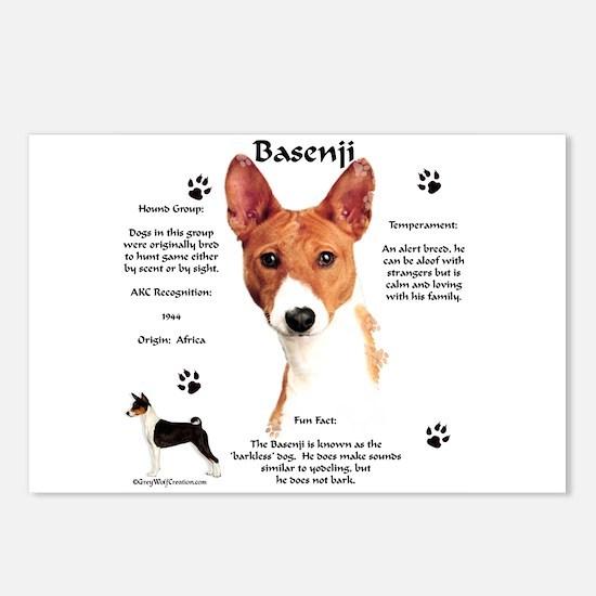 Basenji 1 Postcards (Package of 8)