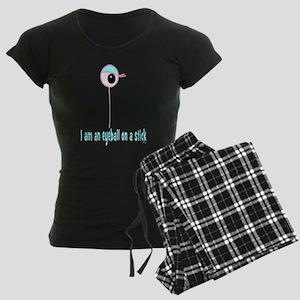 Eyeball on a Stick Women's Dark Pajamas