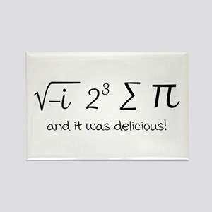 I ate some pie math humor Magnets