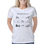 In Satnav We Trust Grid Women's Classic T-Shir