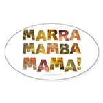 Marra Mamba Mama Oval Sticker
