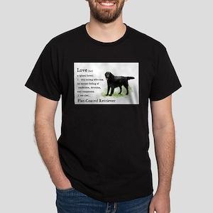flatcoat love is redo2 T-Shirt