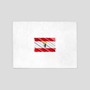 Berlin Flag 5'x7'Area Rug