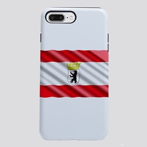 Berlin Flag iPhone 7 Plus Tough Case
