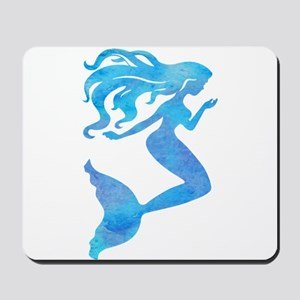 Watercolor Mermaid Mousepad
