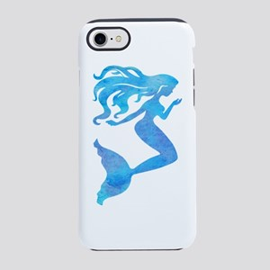 Watercolor Mermaid iPhone 7 Tough Case