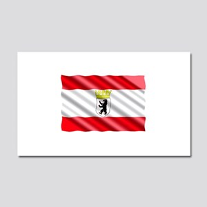 Berlin Flag Car Magnet 20 x 12