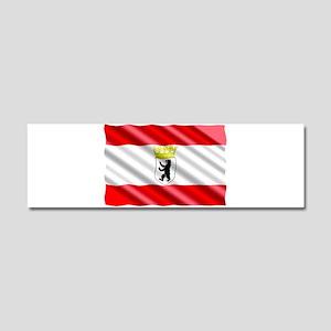 Berlin Flag Car Magnet 10 x 3