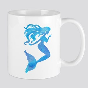 Watercolor Mermaid Mugs