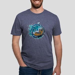 New Jersey - North Wildwood Mens Tri-blend T-Shirt