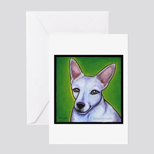 """Jack Russell Terrier """"Madison"""" Greeting Card"""