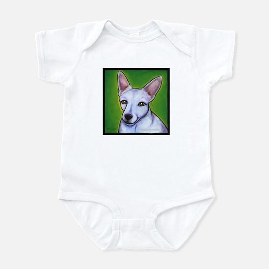 """Jack Russell Terrier """"Madison"""" Infant Bodysuit"""