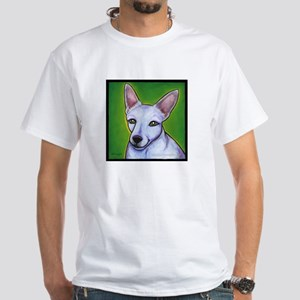 """Jack Russell Terrier """"Madison"""" White T-Shirt"""
