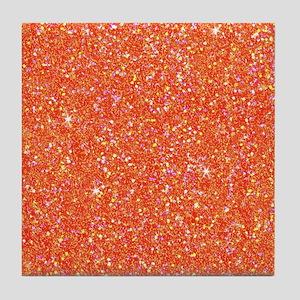 Glitter Shiny Sparkly Tile Coaster