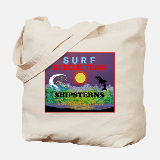 Shipsterns, Tasmania Surf Rescue Tote Bag