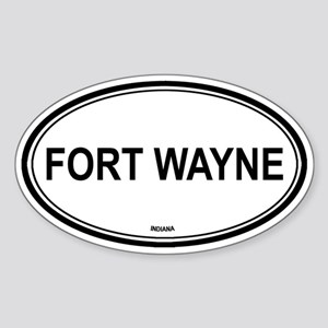 Fort Wayne (Indiana) Oval Sticker