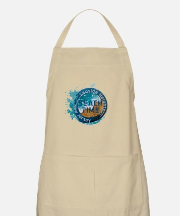 Cute Seaside heights vacation Light Apron