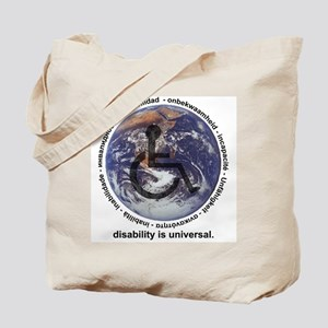 DISABILITY IS UNIVERSAL Tote Bag