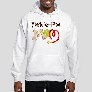 Yorkie-Poo Dog Mom Hooded Sweatshirt