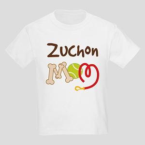 Zuchon Dog Mom Kids Light T-Shirt