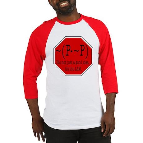 P not P Baseball Jersey
