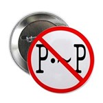 "P not P 2.25"" Button (100 pack)"
