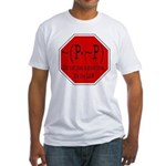 P not P Fitted T-Shirt