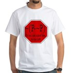P not P White T-Shirt
