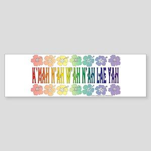 KMAH NIWAH NILAE YAH trans Sticker (Bumper)