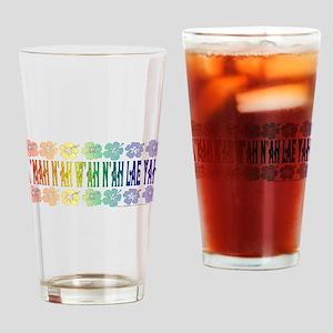 KMAH NIWAH NILAE YAH trans Drinking Glass