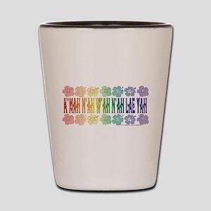 KMAH NIWAH NILAE YAH trans Shot Glass